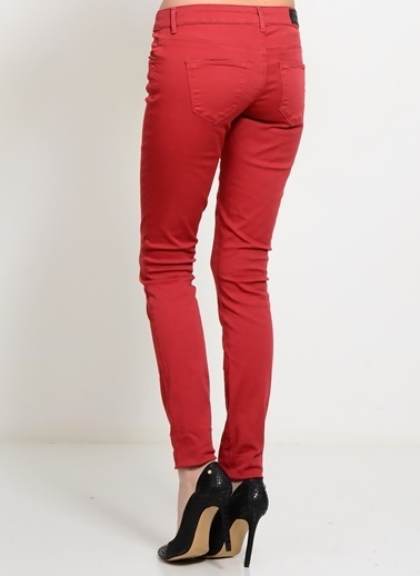 Vero Moda Slim Fit Pantolon Kiremit
